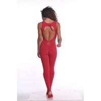 Комбинезон для йоги и фитнеса Beauty Red