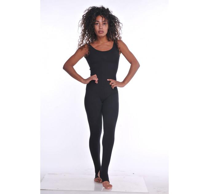 Комбинезон для йоги и фитнеса Beauty Black