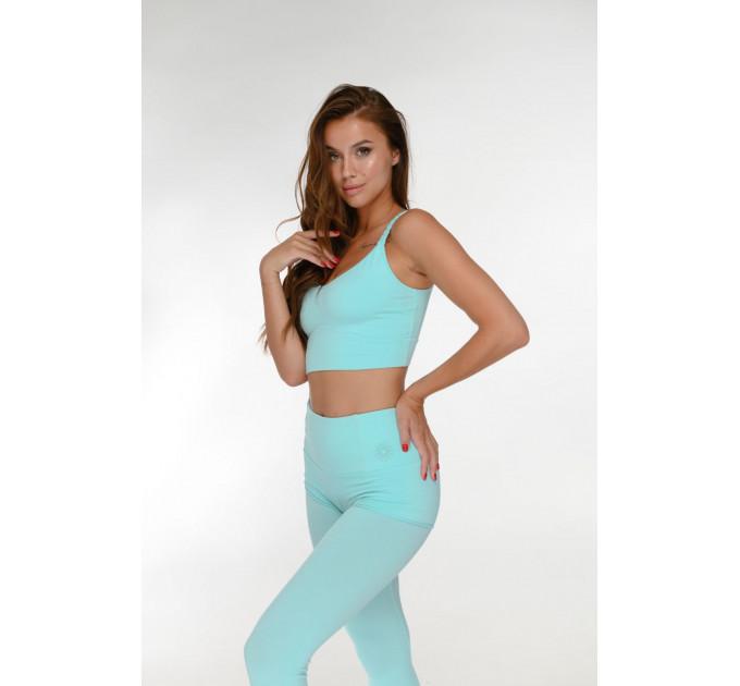 Костюм для спорта топ и леггинсы с шортами с высокой талией Mirra Tiffany