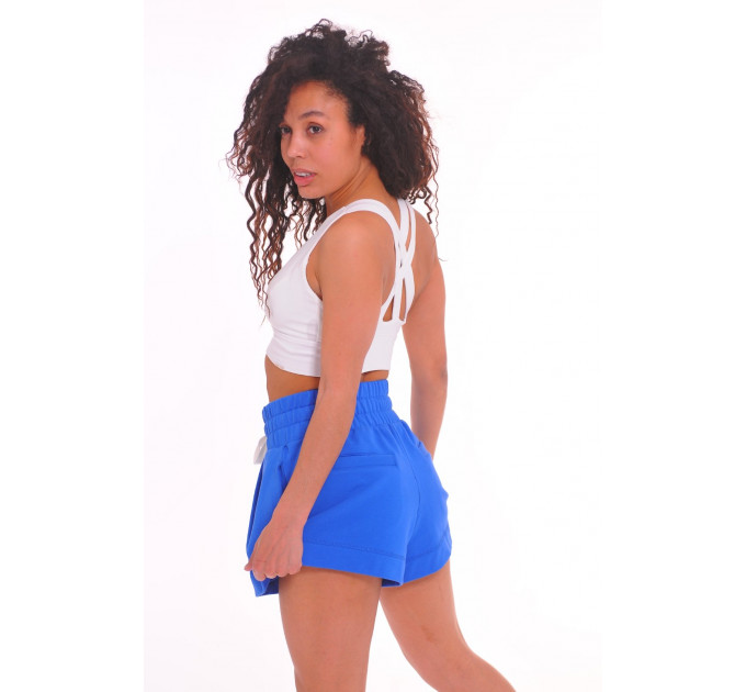 Синие шорты с карманами Energy Sapphire