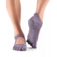 Носки для йоги ToeSox Grip Full Toe Bellarina (Opal)