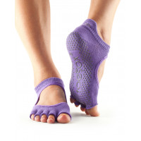 Носки для йоги ToeSox Grip Half Toe Bellarina (Light Purple)