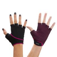 Перчатки для спорта ToeSox Grip (Fuchsia)