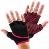 Коралловые нескользящие перчатки для йоги, стретчинга ToeSox Grip (Coral)