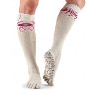 Носки для йоги ToeSox Grip Full Toe Scrunch (Ritual)