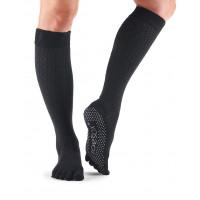 Носки для йоги ToeSox Grip Full Toe Scrunch (Onyx)