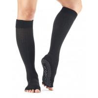 Носки для йоги ToeSox Grip Half Toe Scrunch (Black)