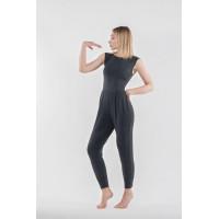 Комбинезон для йоги и фитнеса Rukmini Grey