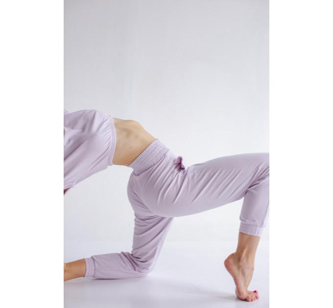 Женские спортивные брюки с зауженным фасоном Tripoli Lilac