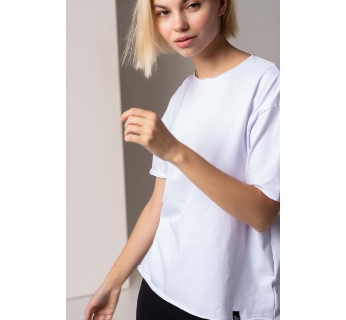 Белая базовая женская футболка New York