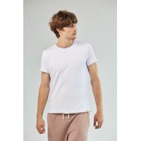 Мужская футболка Veimar White/Walnut