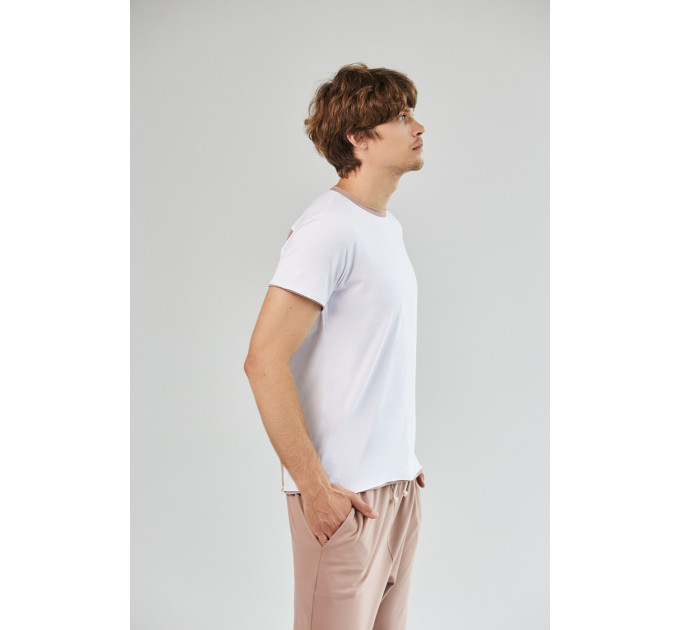 Мужская футболка с цветной вставкой Veimar