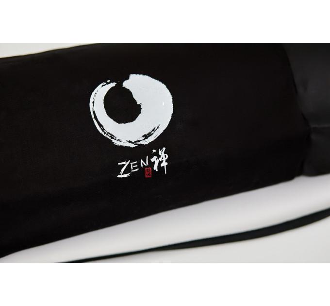 Чехол для йога коврика черного цвета из вощенного денима Black